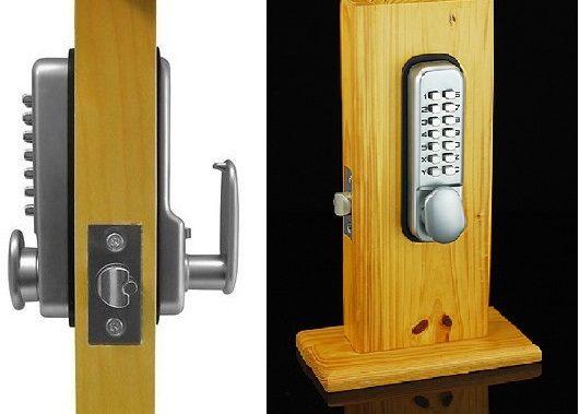 Кодовые замки на двери: принцип работы кодового механического замка | 379x531